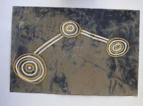 Aboriginal Art - Mangroves, Waterholes, Creeks and Floodplains 3