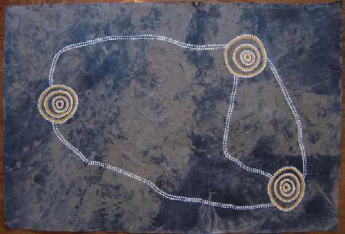 Aboriginal Art - Mangroves, Waterholes, Creeks and Floodplains 4