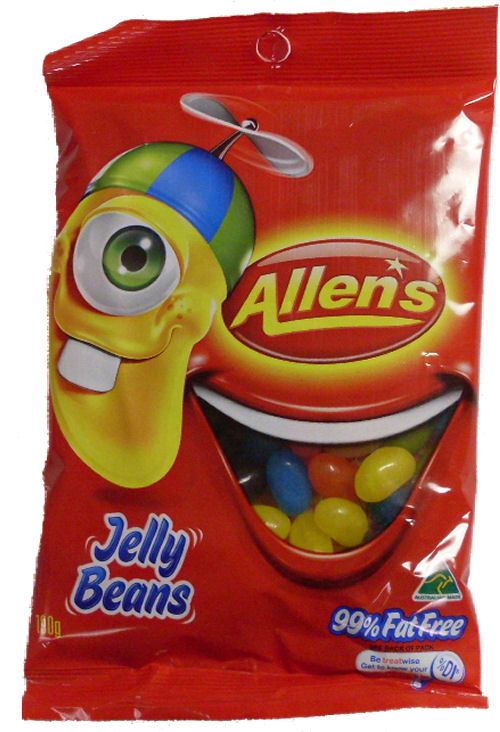 Allens Jelly Beans 190g (BB:OCT10)