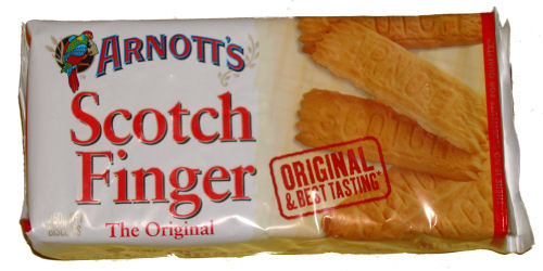 Arnotts Scotch Finger 250g Pkt