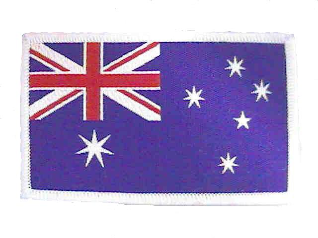 Badge: Australian Flag