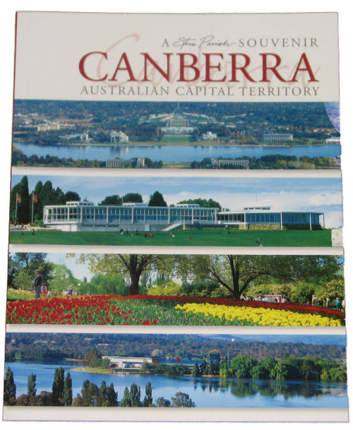 Book: Souvenir of Canberra