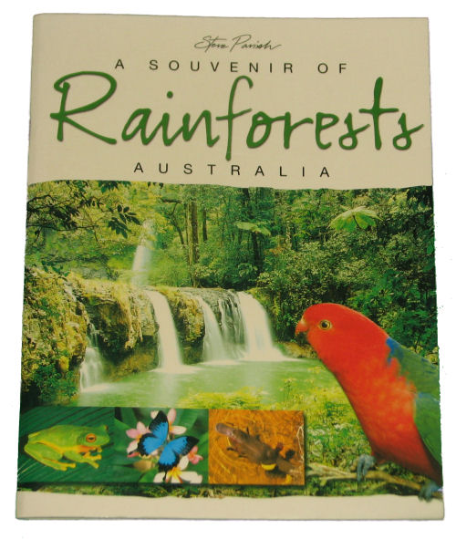 Book: Souvenir of Australian Rainforests