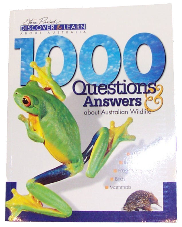 Book: Australian Wildlife 1000 Q and A's