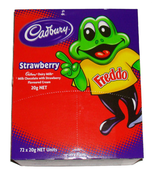 Box: Freddo Frog Strawberry