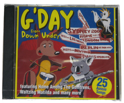 CD: G'day From Down Under