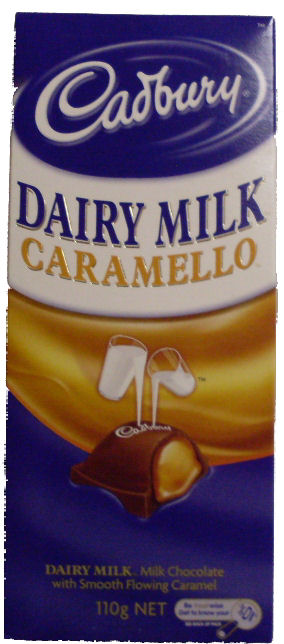 Cadbury Caramello Chocolate 110g