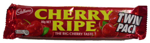 Cadbury Cherry Ripe Bar Twinpack 80g