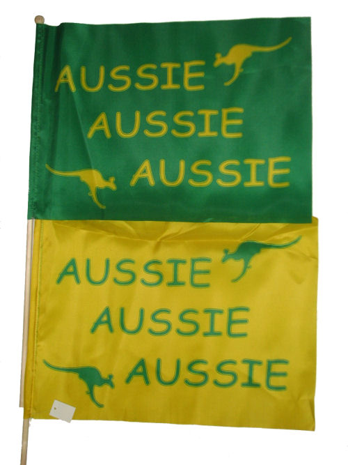 Aussie Aussie Aussie Flag 12x18inches (305x457mm)