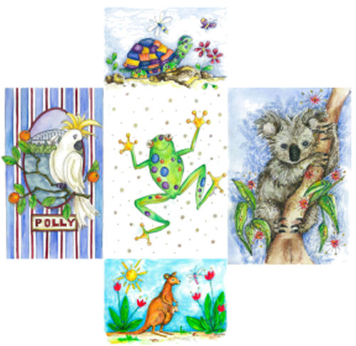 5-Pack Greeting Cards - Assorted