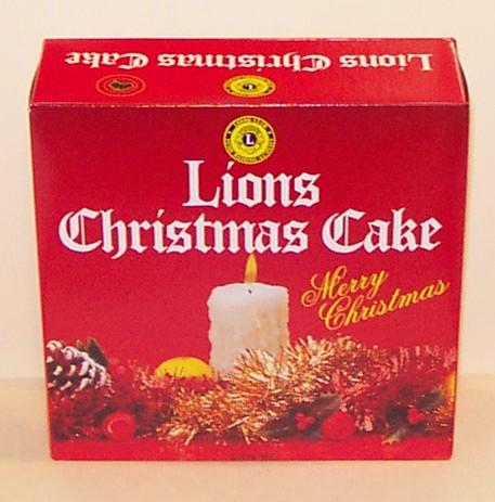 About Australia Shop Lions Australian Christmas Cake 1