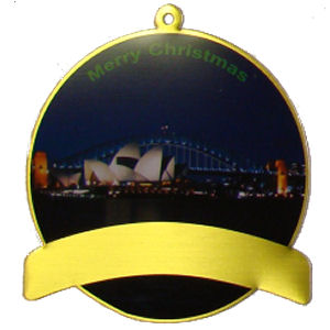Christmas Ornament - Sydney Harbour at Night