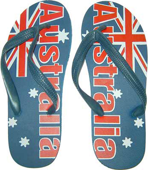 9054e65106b5 About Australia Shop  Australian Flag Thongs (Size Small)
