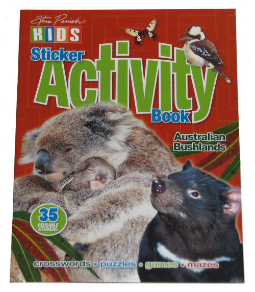 Book: Activity Bushlands