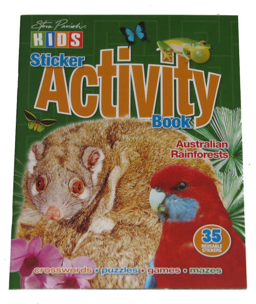Book: Activity Rainforest