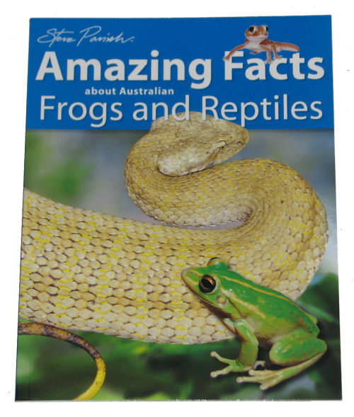 Book: Amazing Facts - Frogs and Reptiles
