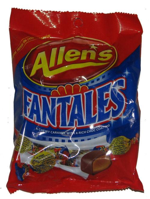 About Australia Shop Allens Fantales 180g