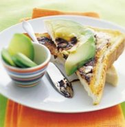 Vegemite & avocado on toast