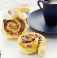 Cheese & Vegemite scrolls
